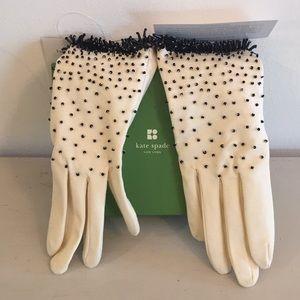 Kate Spade beaded gloves